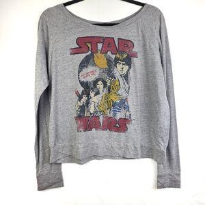 Star Wars Graphic Long Sleeve Tshirt